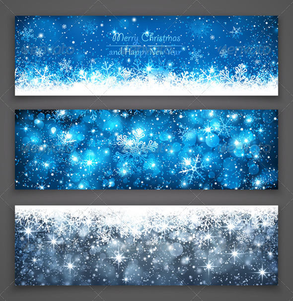GraphicRiver Christmas Banners 8653048
