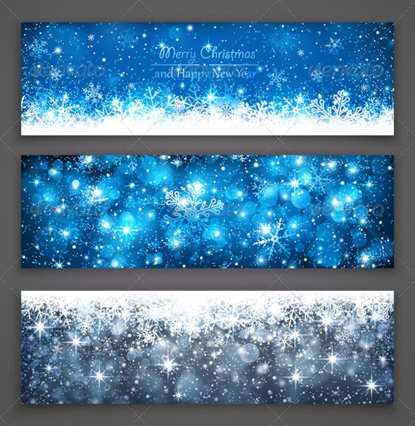 GraphicRiver Christmas Banners 8653048