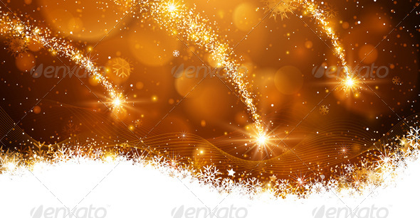 GraphicRiver Christmas Background 8640542