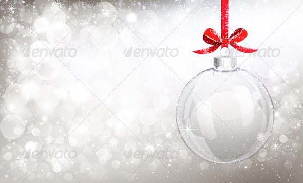 GraphicRiver Christmas Background 8640674