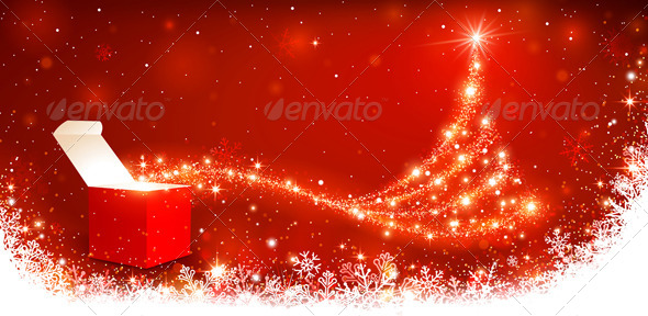 GraphicRiver Christmas Background 8640452