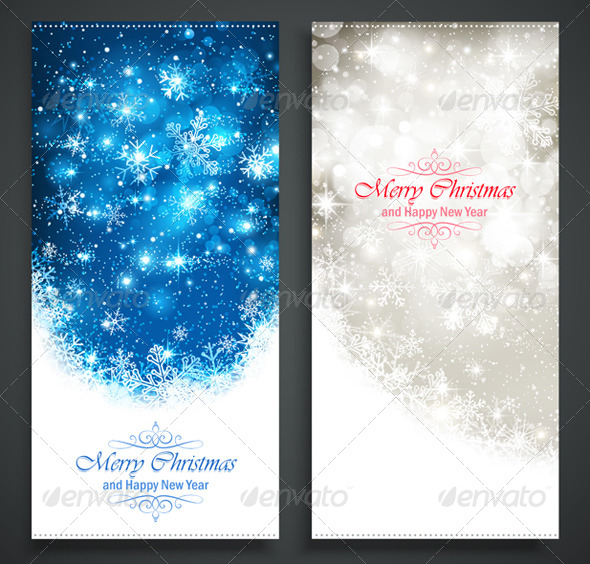 GraphicRiver Christmas Banners 8651999