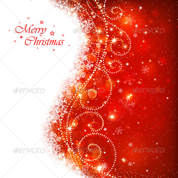 GraphicRiver Christmas Background 8640508