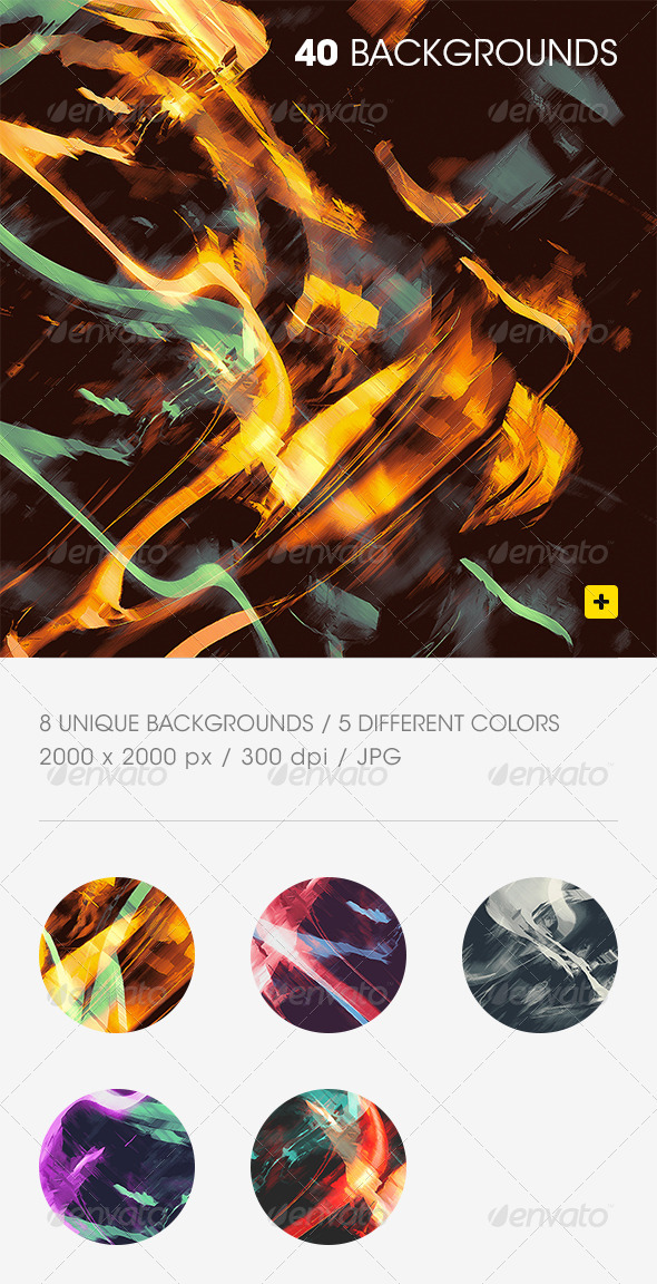 GraphicRiver Abstract Lights Backgrounds 8711873