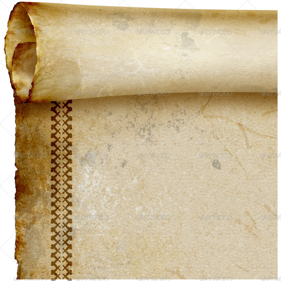 Authentic Scrolls: Parchment Scroll. Old Manuscript Paper By Joiaco
