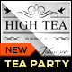 High Tea Bridal Shower Party Invitation Template - GraphicRiver Item for Sale