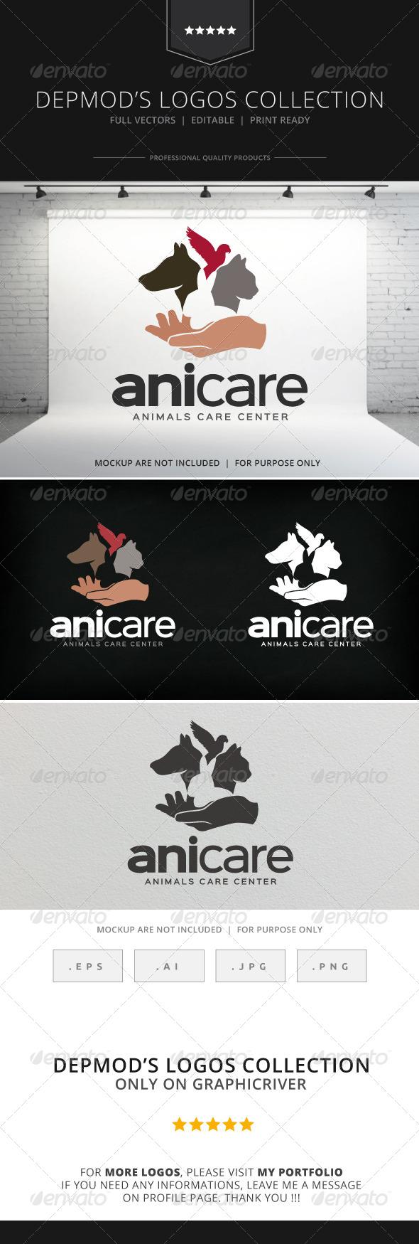 GraphicRiver Anicare Logo 8712775