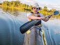 paddling fast sea kayak - PhotoDune Item for Sale