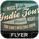 Indie Tour Flyer - GraphicRiver Item for Sale