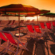 sunset on Liguria Beach, Italy - PhotoDune Item for Sale
