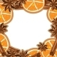 Frame - Cinnamon, Star Anise and Orange - GraphicRiver Item for Sale