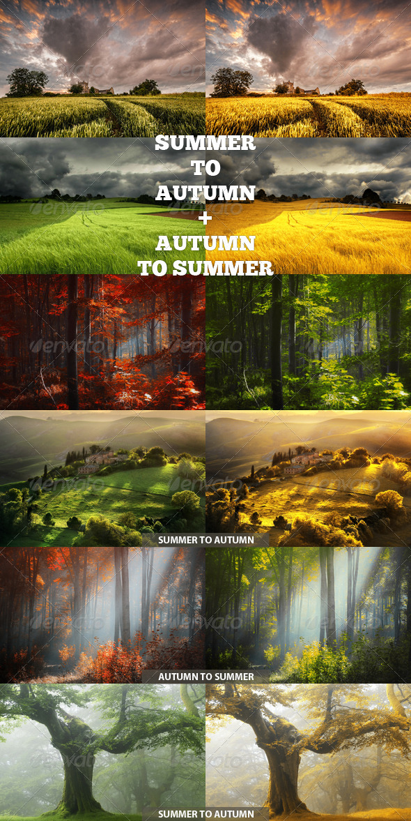 GraphicRiver Summer to Autumn Action 8686238