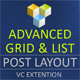 Advance Post Grid/List with Filter and Sort for VC - CodeCanyon Item for Sale