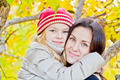 Mother and daughter in autumn - PhotoDune Item for Sale