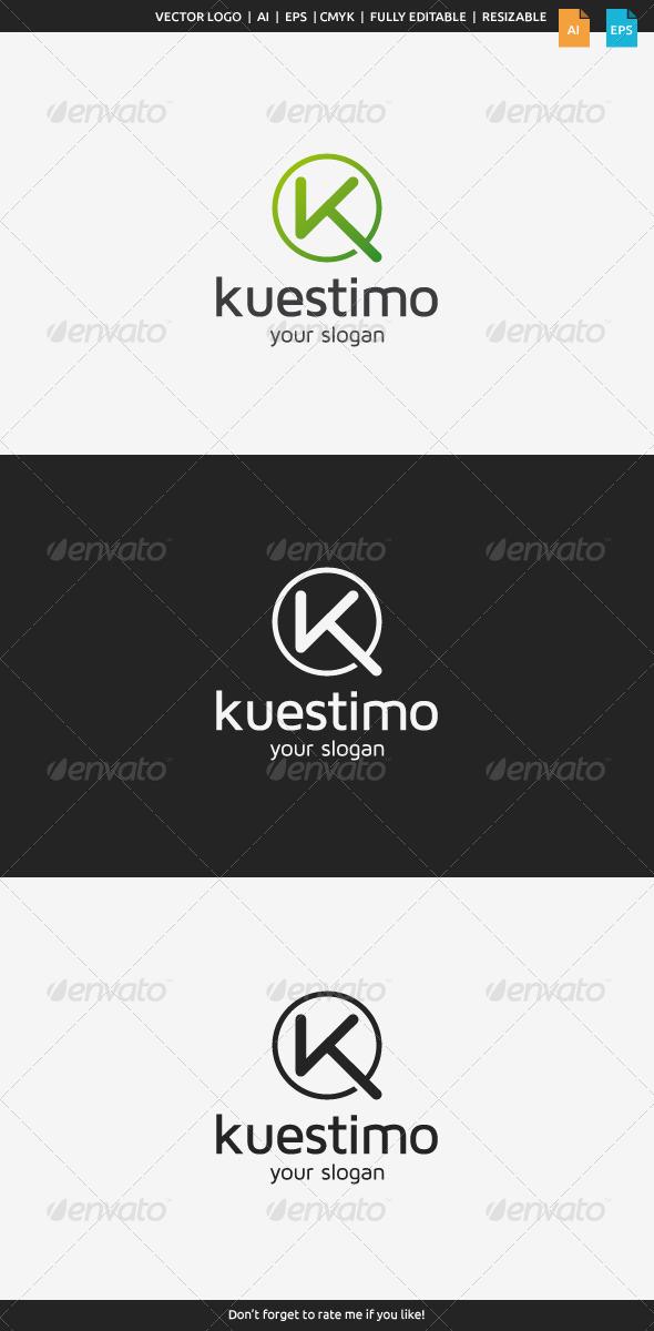 GraphicRiver Kuestimo K Logo 8713037