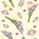 Seamless Pattern with Lavender - GraphicRiver Item for Sale