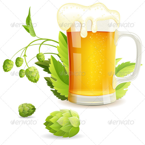 GraphicRiver Glass of Beer 8713312
