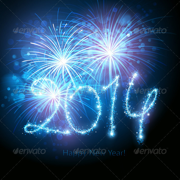 GraphicRiver New Year Fireworks 8713335