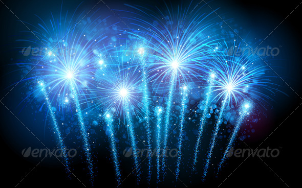 GraphicRiver Fireworks 8713383