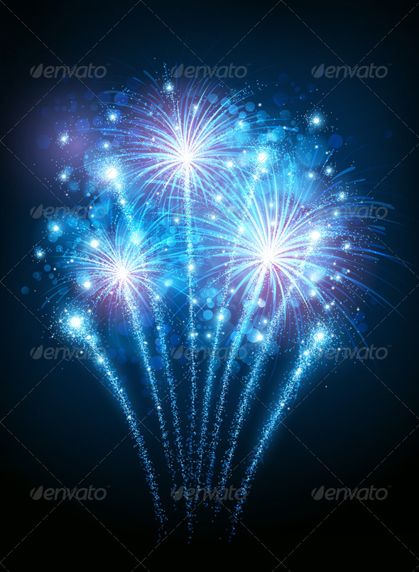 GraphicRiver Fireworks 8713395