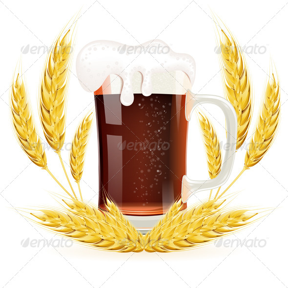 GraphicRiver Glass of Beer 8713398