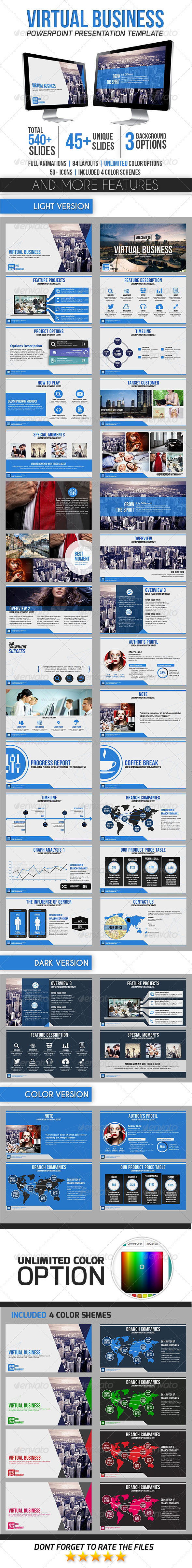 GraphicRiver Virtual Business 8713413