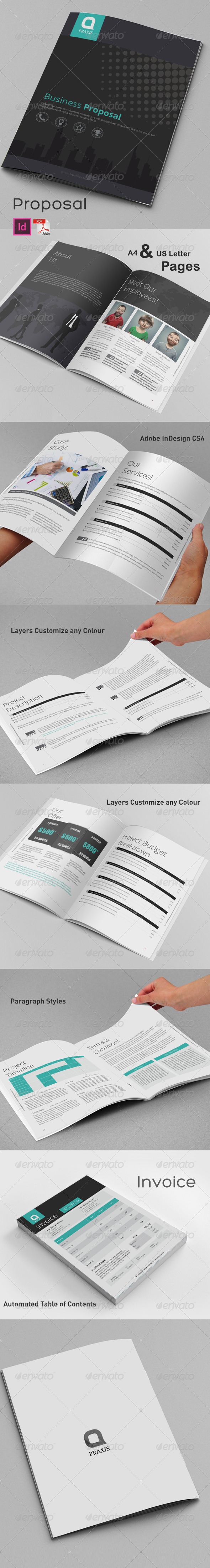 GraphicRiver Business Proposal 8713554