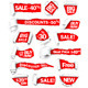 Collection of Red Paper - GraphicRiver Item for Sale