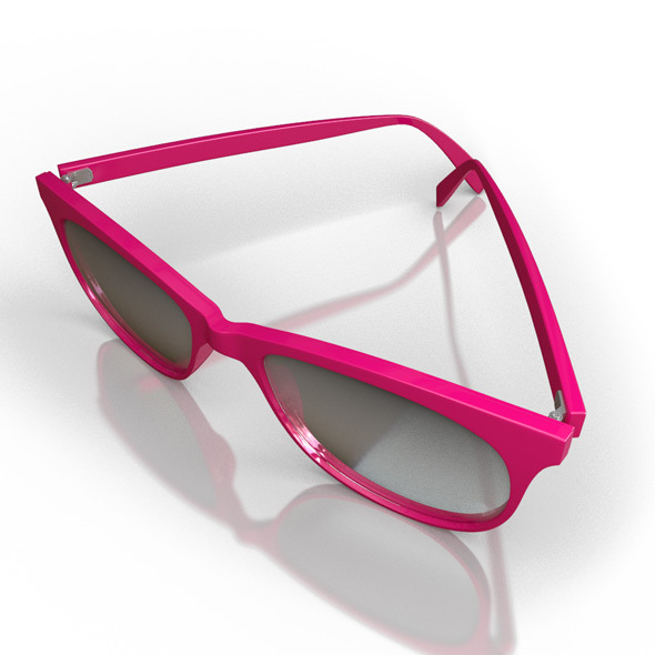 Girls Sunglasses - 3DOcean Item for Sale