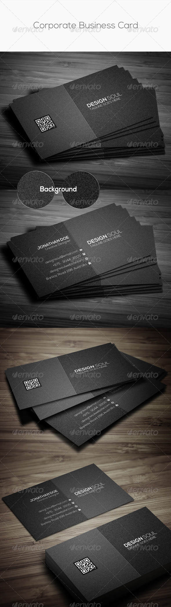 GraphicRiver Corporate Business Card 8713690
