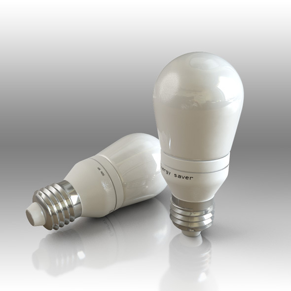 Energy bulb - 3DOcean Item for Sale