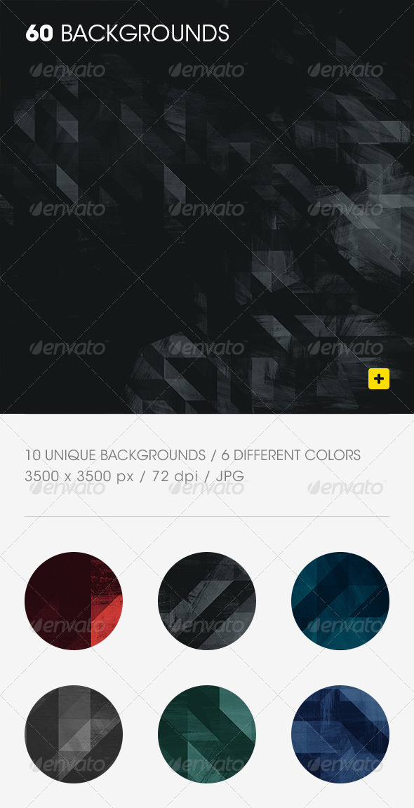 60 Geometric Textured Backgrounds