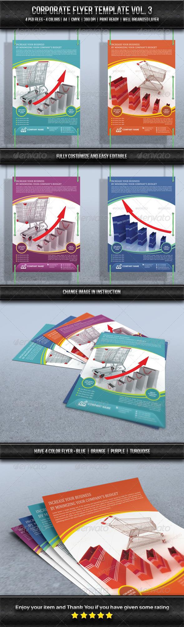 GraphicRiver Corporate Flyer Template Vol 3 8713899