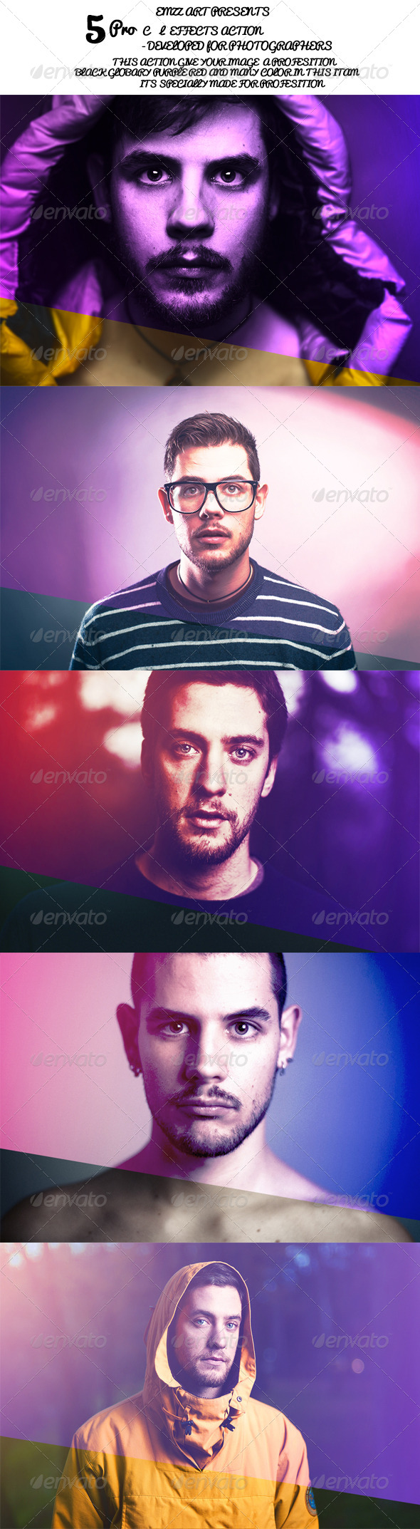 GraphicRiver 5 Ps Action 8714299