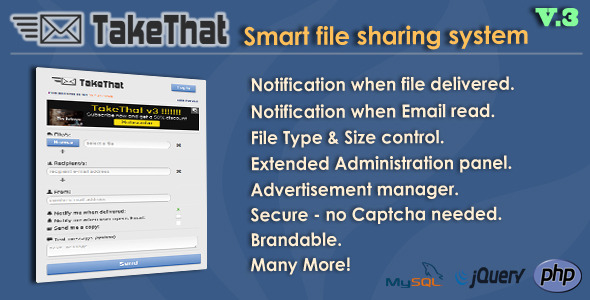 TakeThat! file sharing system V.3  - CodeCanyon Item for Sale