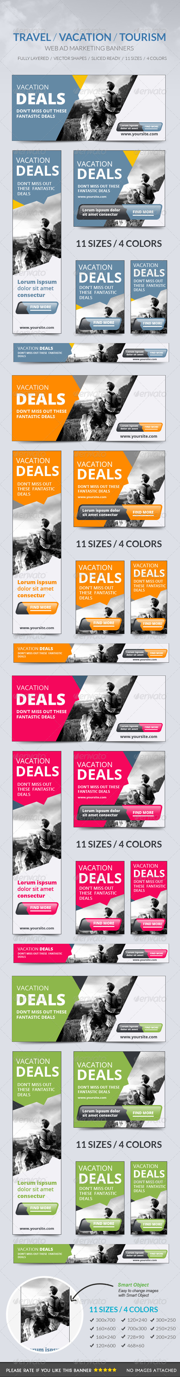 GraphicRiver Travel Vacation Tourism Banner 8715190