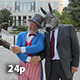 Politicians Shake Hands With Uncle Sam - VideoHive Item for Sale