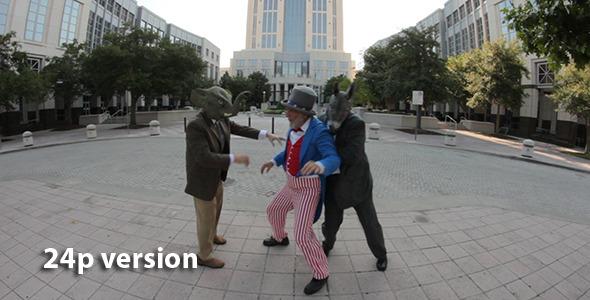 Politicians Push Uncle Sam Around 2