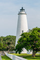 The Ocracoke Lighthouse and Keeper's Dwelling on Ocracoke Island - PhotoDune Item for Sale