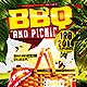 BBQ And Picnic | Flyer Template PSD - GraphicRiver Item for Sale