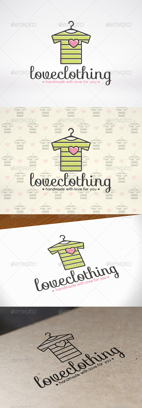 GraphicRiver Love Clothing Logo Template 8715501