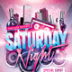 Saturday Night Flyer - GraphicRiver Item for Sale