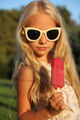 Little girl and ice cream - PhotoDune Item for Sale