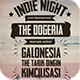 Indie Typography Flyer/Poster Vol.4 - GraphicRiver Item for Sale