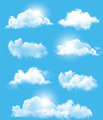 Set of transparent different clouds.  - PhotoDune Item for Sale