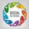 Business social network concept.  - PhotoDune Item for Sale