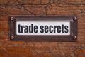trade secrets label - PhotoDune Item for Sale