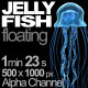 Jellyfish Floating - VideoHive Item for Sale