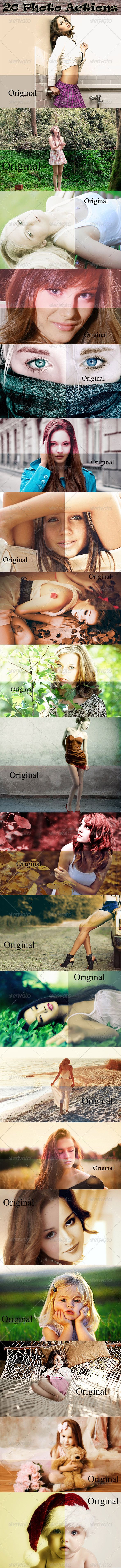 GraphicRiver 20 Photo Actions 8715853