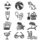 Summer Icon Set - GraphicRiver Item for Sale